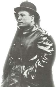 Benito Mussolini als Führer der italienischen Faschisten