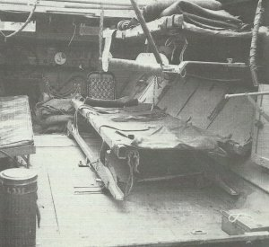 Innenraum Sanitäts-Panzerwagen