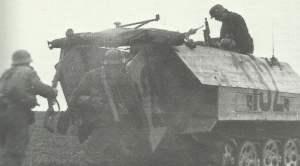 Hecktüren SdKfz 251