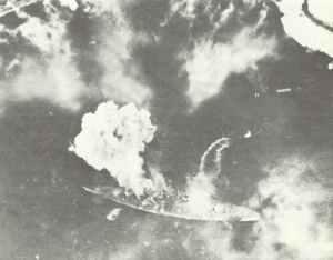 Tirpitz unter dem Angriff von Fairey Barracudas