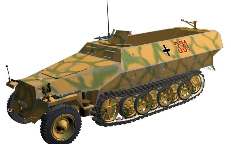 SdKfz 251 Schützenpanzer