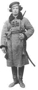 Fyodor Shuss, Kavallerie-Kommandant der Ukrainer