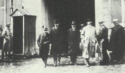 Mitglieder der deutschen Delegation in Versailles