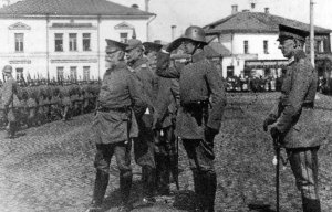 Deutsche Truppen im Baltikum