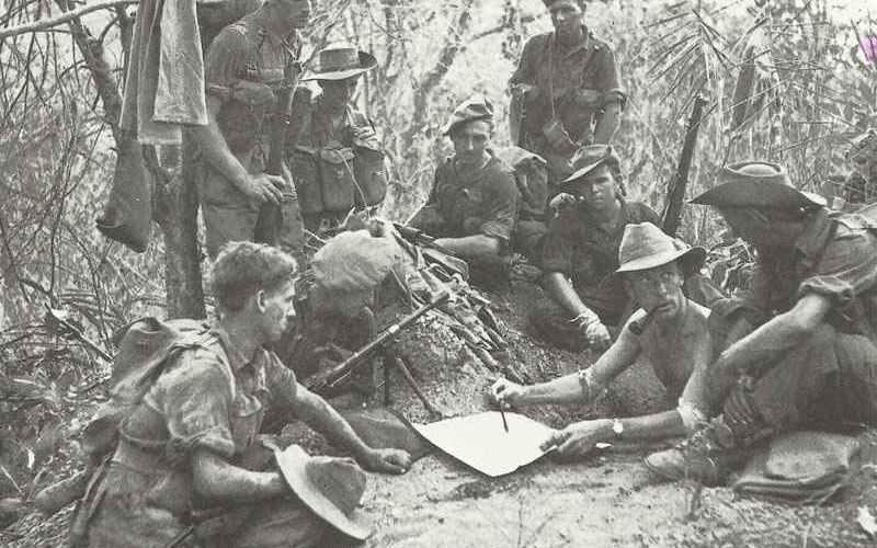 Britische Armee Südost-Asien