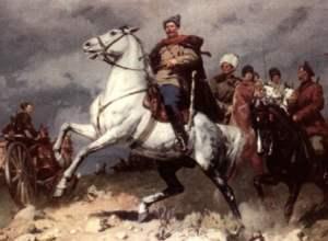 Rote Kommandant V. I. Chapaev