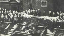 Hindenburg Vereidigung zum Reichspräsidenten