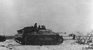 StuG III des I.SS-Panzer-Korps