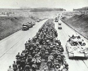 alliierter Vormarsch nach Deutschland hinein