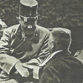 Bergruessung Erzherzog Ferdinand Sarajewo