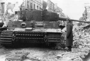 Tiger I zerstört Normandie