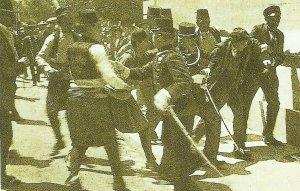 Verhaftung Gavrilo Princips