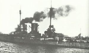 deutsche Kriegsschiffe  in Scapa Flow