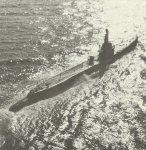 amerikanisches U-Boot der Gato-Klasse