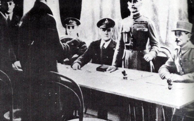 Waffenstillstand November 1918