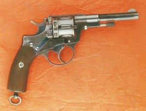 Belgischer Offiziers-Revolver Nagant Modell 1884