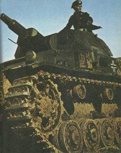 früher PzKpfw IV mit Kurzrohr-Kanone