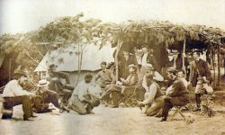 Hahnenkampf von Unions-Soldaten