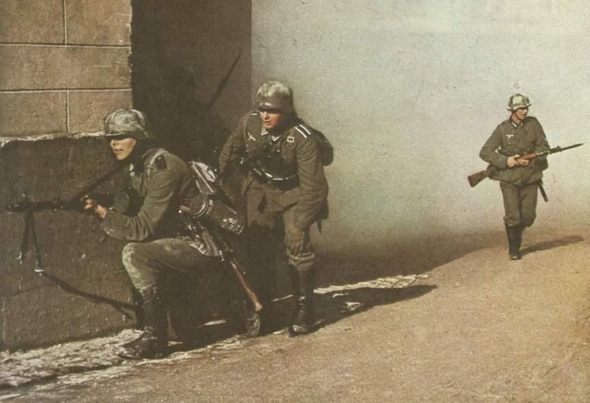 Deutsche Infanterie Strassenkampf