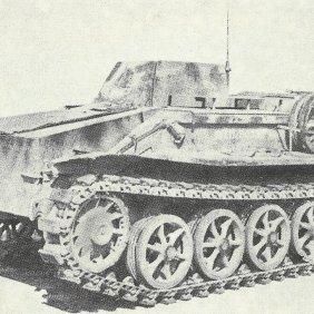 Funklenkpanzer B IV SdKfz 301