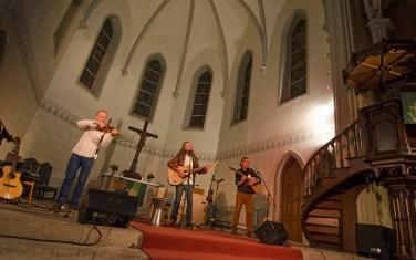 """SandersAlleyGeiling: """"Continental Drift Tour""""; Friedenskirche Leipzig"""