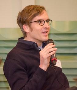 Mathias Rodatz bei der Podiumsdiskussion
