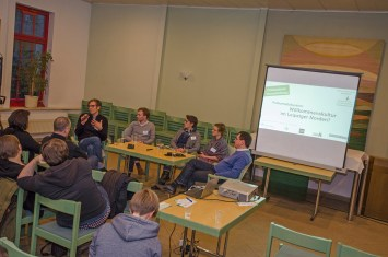 """Podiumsdiskussion zum Thema: Willkommenskultur im Leipziger Norden"""""""