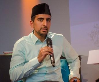 Saadat Ahmed, Ahmadiyya-Muslim-Gemeinde; Foto: Andreas Reichelt