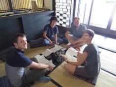 Im japanischen Teehaus