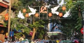 Vorbereitungen fuer den 10.10. - Hanois 60ter Unabhaenigkeitsfeiertag