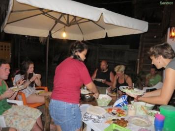 Gemeinsames Abendessen