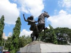 Kriegerinnenstatue