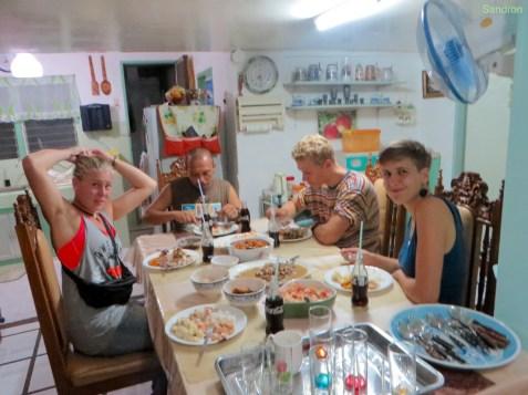 Essen auf der Fiesta