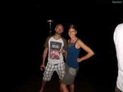 Michael und Sandra am Strand