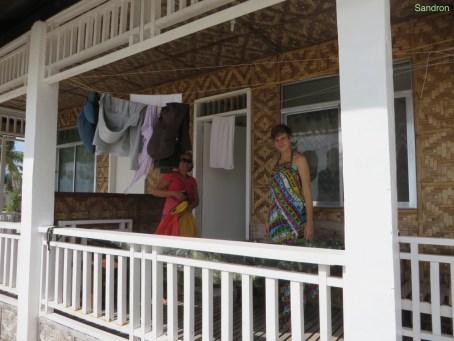 Unsere Hütte mit Rahel