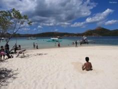 Beach CYC, die Locals verbringen hier den Samstag mit ihren Familien