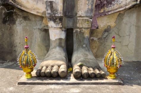 Buddhas Füße