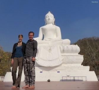 Der weiße Buddha