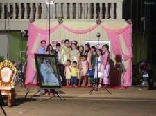 Hochzeitsbild mit der ganzen Familie