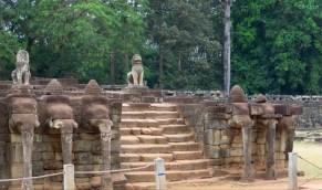 Eingang zum Elefanten Tempel