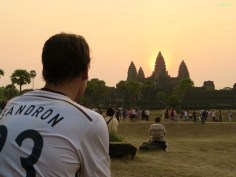 Sandron in Angkor Wat