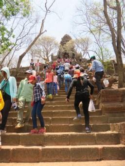 Aufstieg zum Banan Tempel (gebaut zwischen 1050 und 1219)