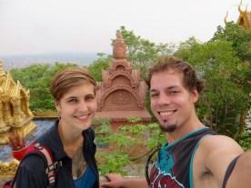 Tempelauslfüge mit Sandron