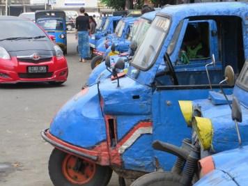 Mini Taxis... die fahren wirklich!