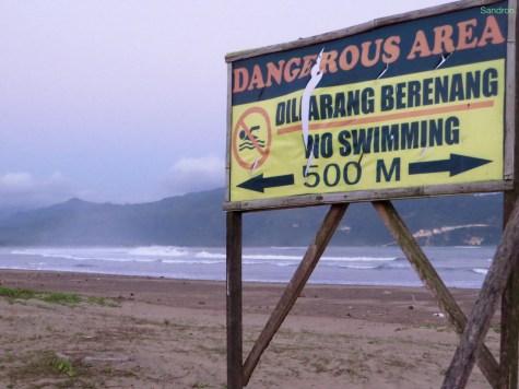 Kein Schwimmen, aber surfen?!