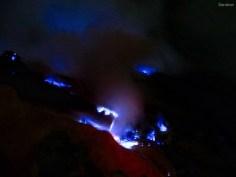Der blau brennende Schwefel!