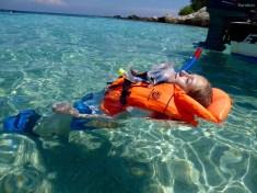 Plankin im Wasser