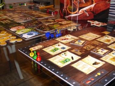 Alchemist, ein sehr tolles und strategisches Spiel bei dem man Tränke brauen muss.