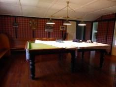 Ein extra Zimmer für den Billard Tisch