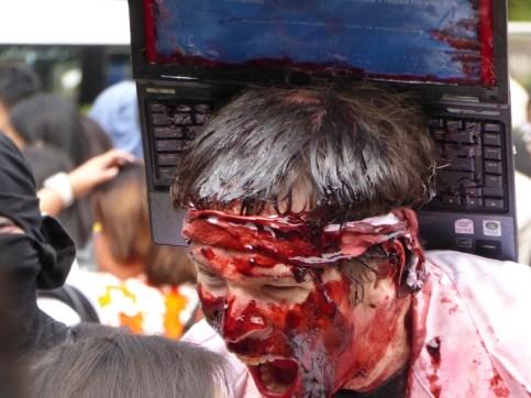 Laptop Zombie